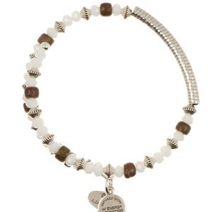 Alex and Ani White Water Uncharted Voyage Bracelet